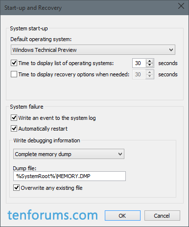 Configure Windows 10 to Create Minidump on BSOD-complete-memory-dump-save-location.png