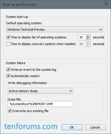 Configure Windows 10 to Create Minidump on BSOD-active-memory-dump-save-location.png