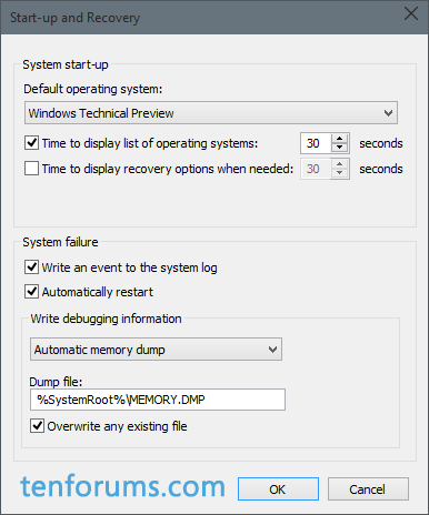 Configure Windows 10 to Create Minidump on BSOD-automatic-memory-dump-save-location.png
