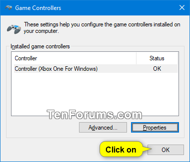 Calibrate Game Controller in Windows 10 | Tutorials