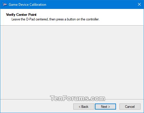 Calibrate Game Controller in Windows 10   Tutorials
