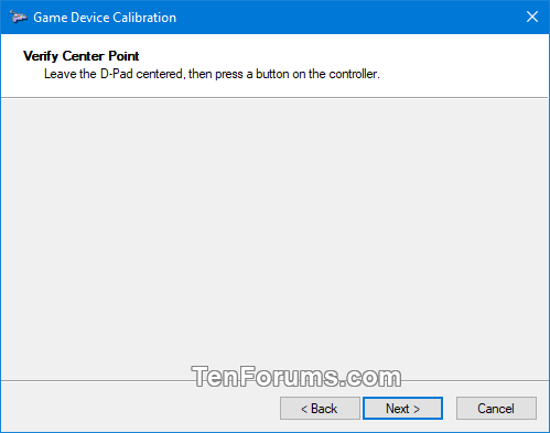 Calibrate Game Controller in Windows 10-verify.png