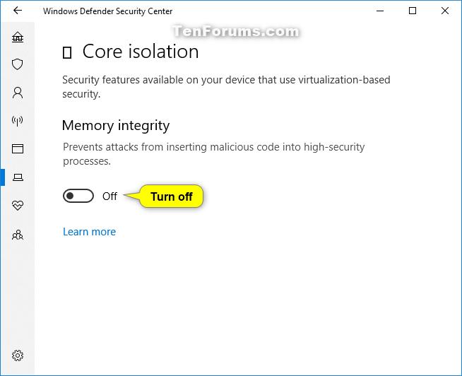 Name:  Windows_Defender_Memory_integrity-3.png Views: 37183 Size:  39.6 KB