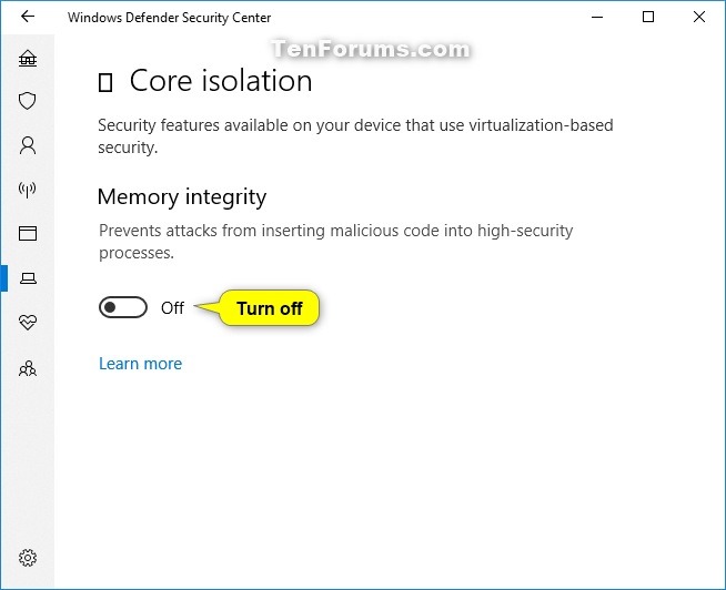 Turn On or Off Core Isolation Memory Integrity in Windows 10-windows_defender_memory_integrity-3.png