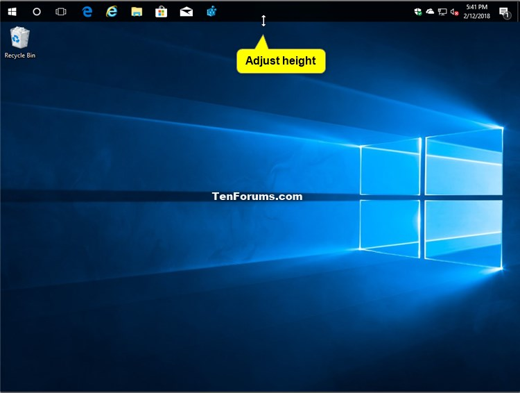 Change Height or Width Size of Taskbar in Windows 10-taskbar_size-3.jpg