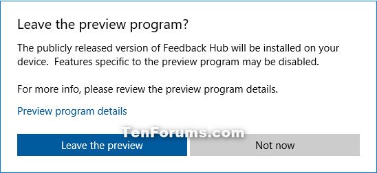 Join or Leave Windows App Preview Program for Apps in Windows 10-leave_windows_app_preview_program-2.png