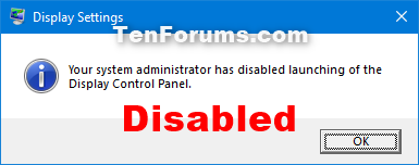 Enable or Disable Changing Screen Saver in Windows | Tutorials