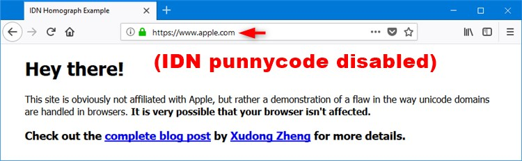 Enable or Disable IDN Punycode in Firefox Address Bar in Windows-firefox_idn_punycode-disabled.jpg