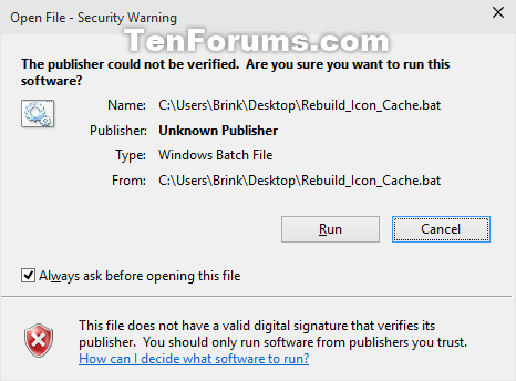 Rebuild Icon Cache in Windows 10-run_open_file_security_warning.png