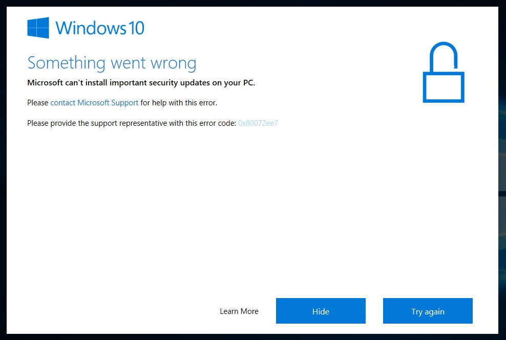 turn off automatic updates windows 10 1709