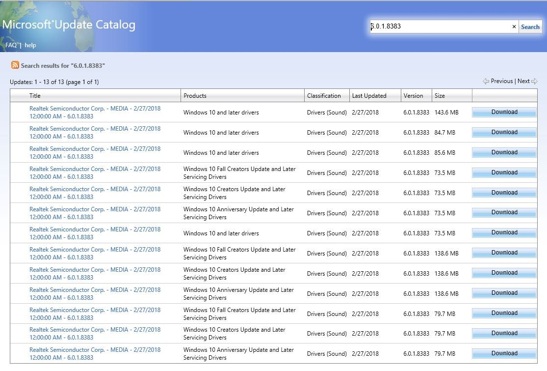 Download and Install Windows Update from Microsoft Update Catalog