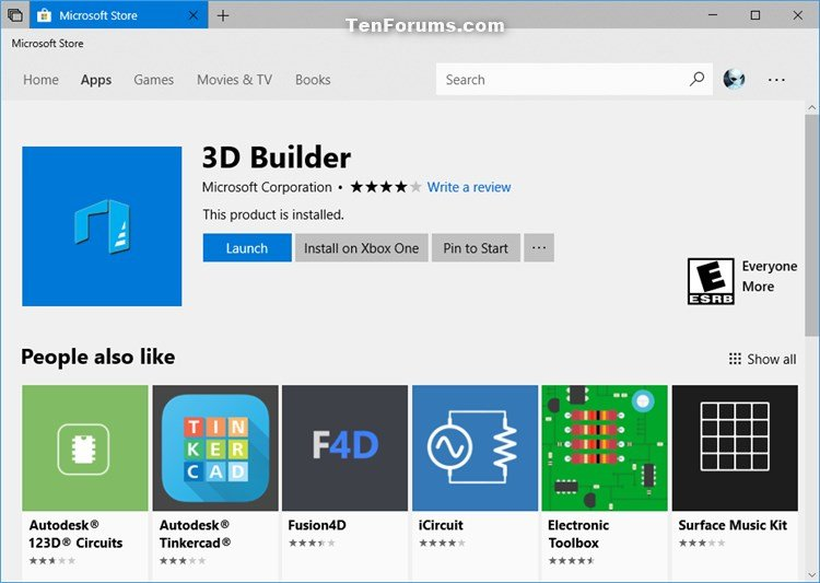 Reinstall and Re-register Apps in Windows 10 | Tutorials