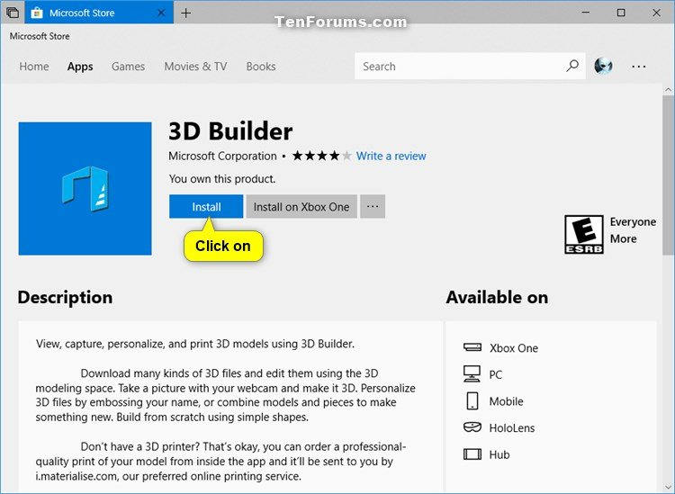 Reinstall and Re-register Apps in Windows 10-install_microsoft_store.jpg