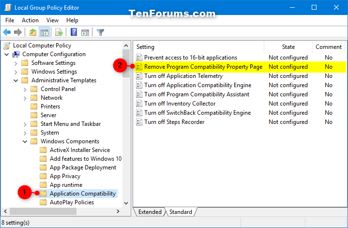 Add or Remove Compatibility Tab on Properties Page in Windows-compatibility_tab_in_property_page_gpedit-1.png