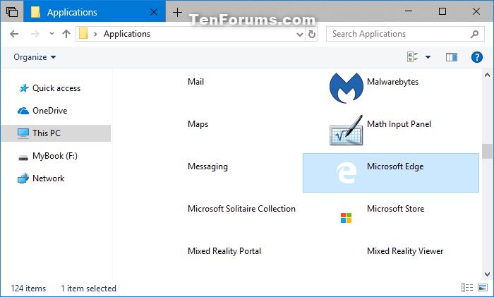 Create Shortcut of Microsoft Edge in Windows 10 | Tutorials