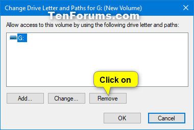Name:  Remove_drive_letter_in_Disk_Management-2.png Views: 70052 Size:  15.1 KB