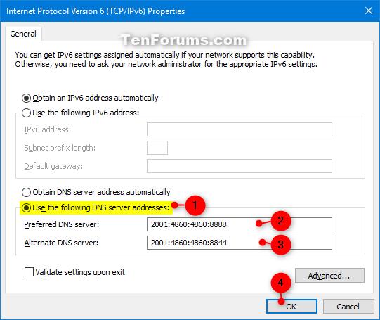 Change IPv4 and IPv6 DNS Server Address in Windows-change_ipv6_dns-5.png