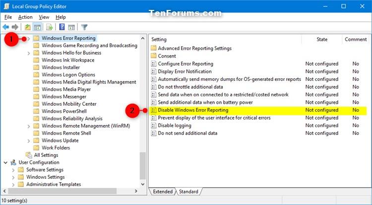Name:  Windows_Error_Reporting_gpedit-2.jpg Views: 320 Size:  83.0 KB