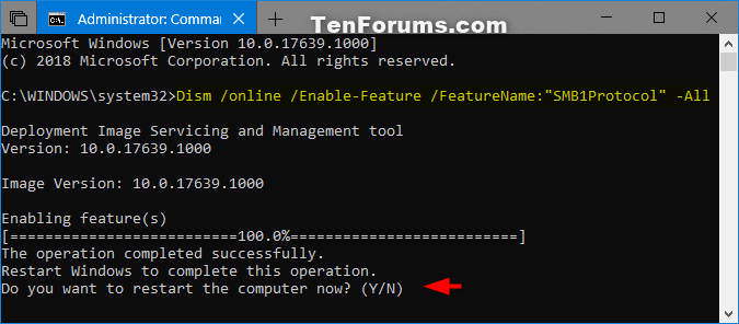 Enable or Disable SMB1 File Sharing Protocol in Windows-smb1_dism-4.png