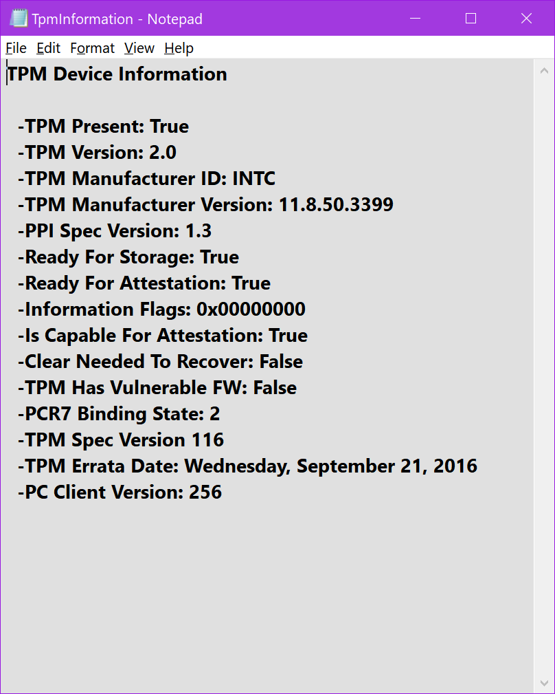 Verify Trusted Platform Module (TPM) Chip on Windows PC | Tutorials