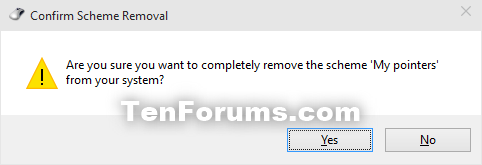 Change Mouse Pointers and Change Pointer Color and Size in Windows 10-delete_pointers_scheme-2.png