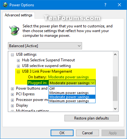 Add USB 3 Link Power Management to Power Options in Windows-usb_3_link_power_management.png