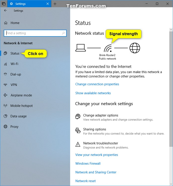 View Wireless Network Signal Strength in Windows 10-current_network_signal_strength_in_settings.jpg