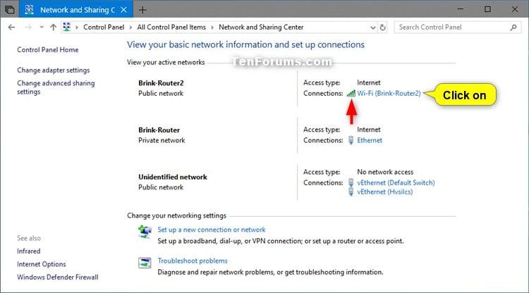 View Wireless Network Signal Strength in Windows 10 | Tutorials