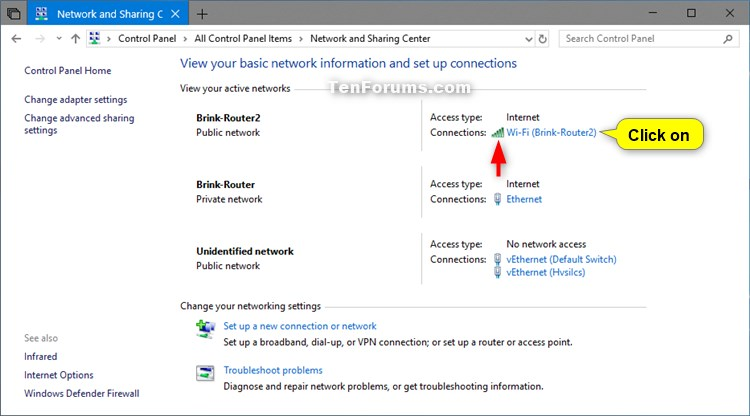 View Wireless Network Signal Strength in Windows 10-network_and_sharing_center.jpg