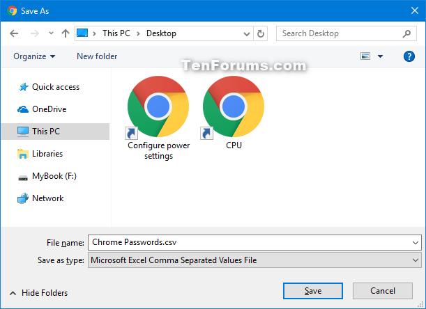 Export Saved Passwords in Google Chrome | Tutorials