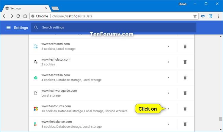 Delete Cookies in Google Chrome - 48.3KB