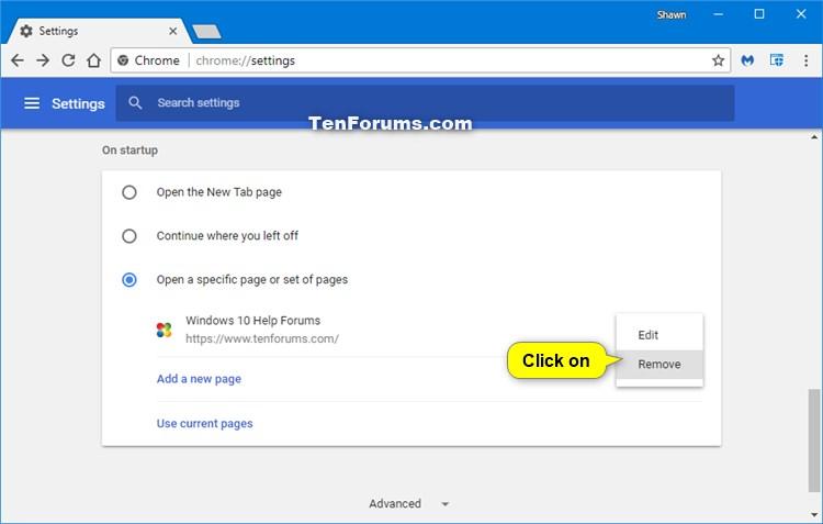 How do i change my homepage in google chrome