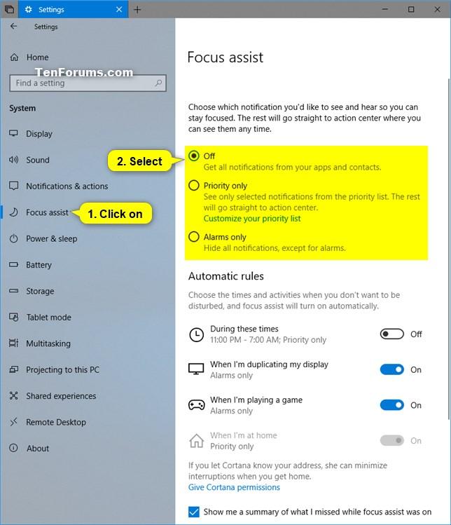 Name:  Focus_assist_Settings.jpg Views: 1958 Size:  87.7 KB
