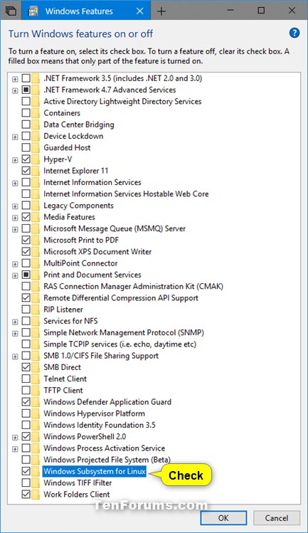 Name:  enable_Windows_Subsystem_for_Linux.jpg Views: 11818 Size:  93.3 KB