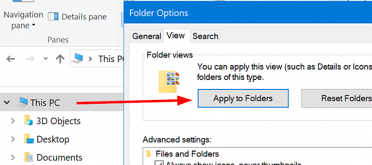 Apply Folder View to All Folders of Same Type in Windows 10-thispc_folderoptions.png
