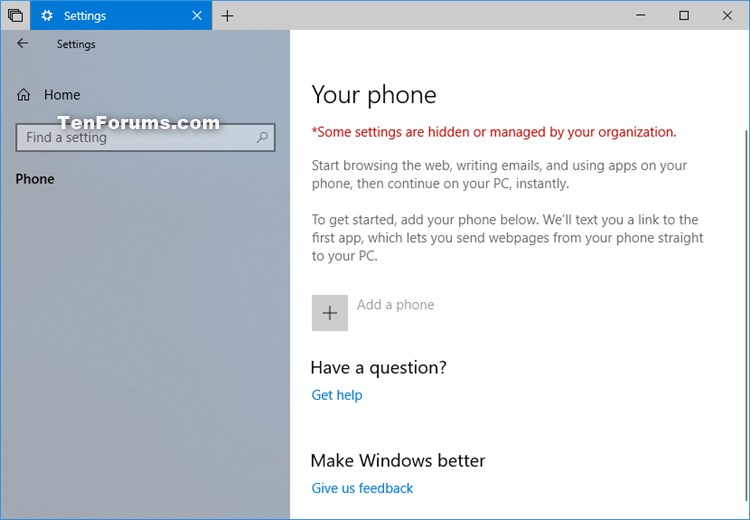 Enable or Disable Phone-PC Linking for Continue on PC in Windows 10-phone-pc_linking_disabled.jpg