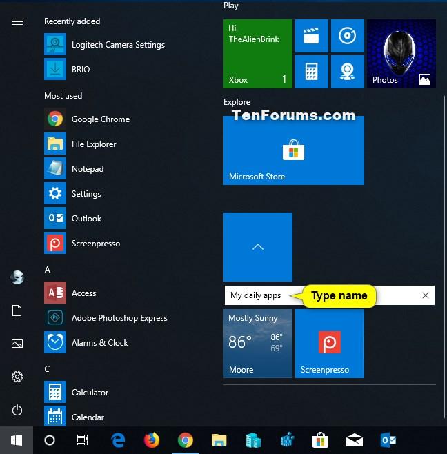 Create and Use Live Folders on Start in Windows 10-rename_live_folder_tile_on_start-4.jpg