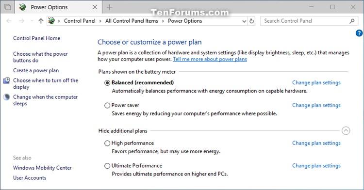 Restore Missing Default Power Plans in Windows 10-windows_10_power_plans.jpg