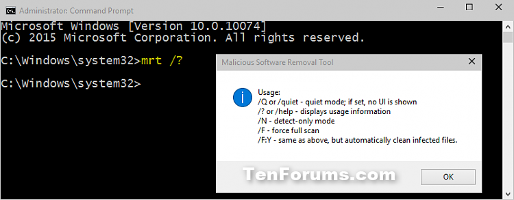Malicious Software Removal Tool in Windows-command.png