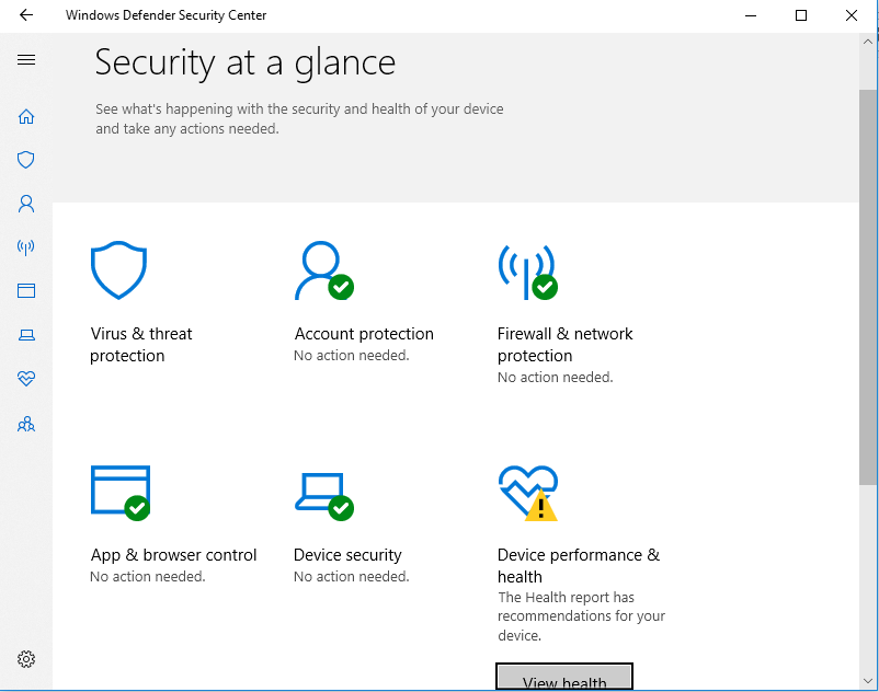 Turn On or Off Windows Defender Real-time Protection in Windows 10