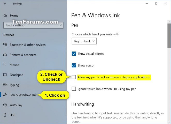 Turn On or Off Allow Pen to Act as a Mouse in Windows 10-allow_pen_to_act_as_mouse_in_legacy_applications.jpg