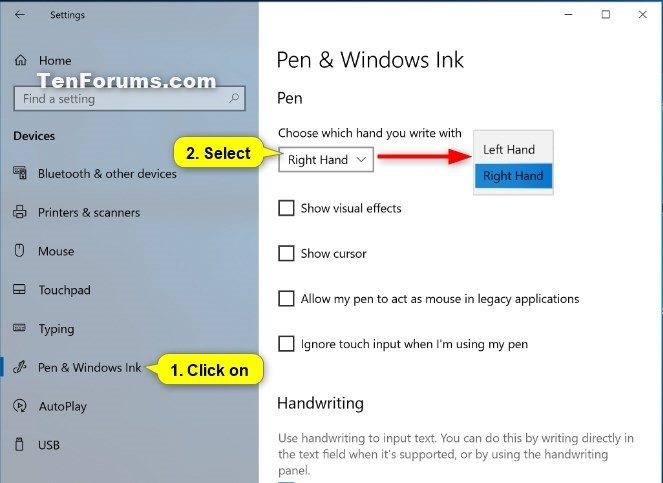 Set Menus to Open Aligned to Left or Right in Windows 10