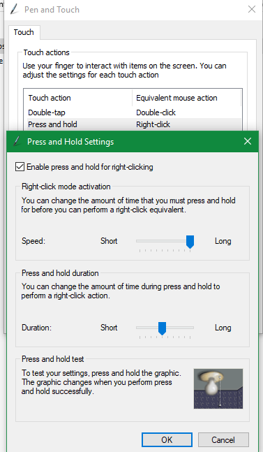 Turn On or Off Show Cursor and Effects when using Pen in Windows 10