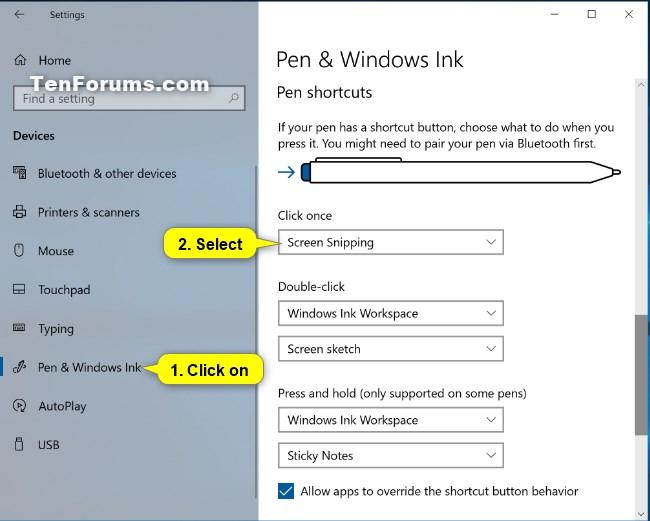 Change Pen Shortcut Button Settings in Windows 10-pen_shortcuts_click_once-2.jpg