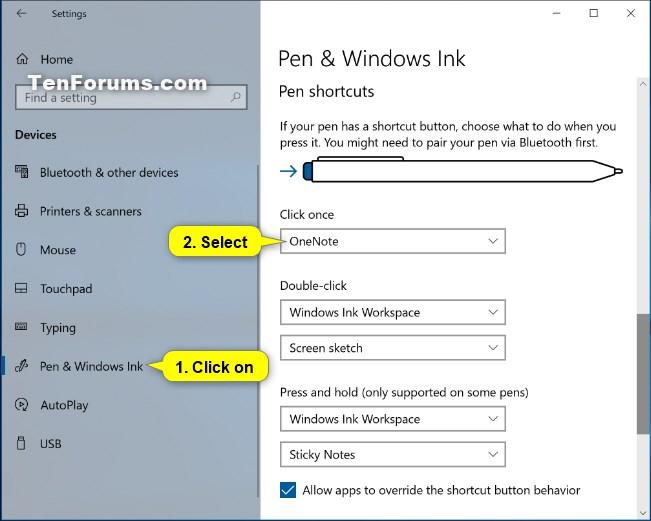Change Pen Shortcut Button Settings in Windows 10-pen_shortcuts_click_once-4.jpg
