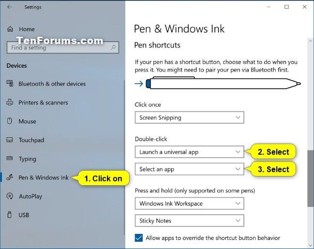 Change Pen Shortcut Button Settings in Windows 10-pen_shortcuts_double-click-5.jpg