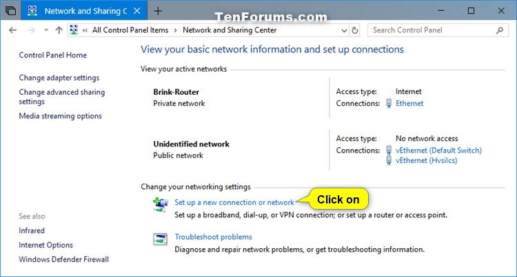 how to manually add wifi network windows 10