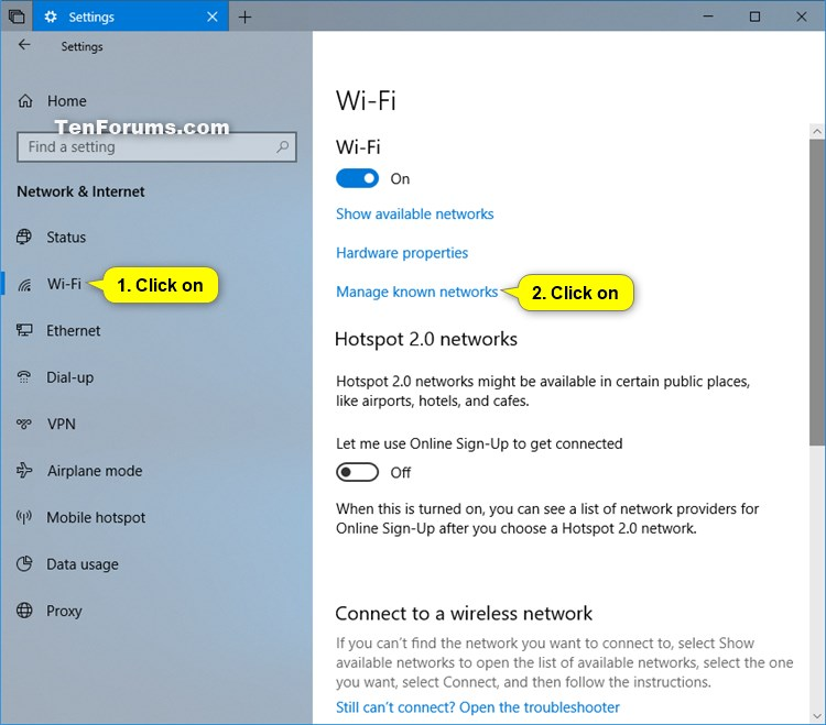 i can t see wireless networks in windows 10