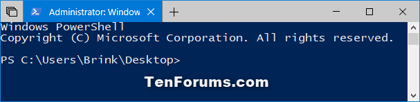 Add Open PowerShell window here as administrator in Windows 10-open_powershell_window_here_as_administrator.png