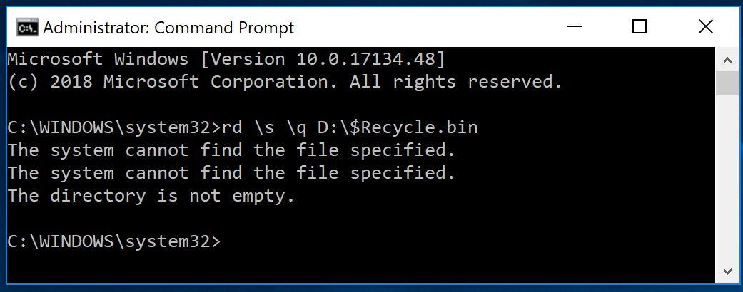 Fix Corrupted Recycle Bin In Windows Tutorials